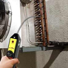 Réfrigérant utile halogène fréon détecteur de fuite A/C R134 R410a R22 Air gaz cvc outil noir
