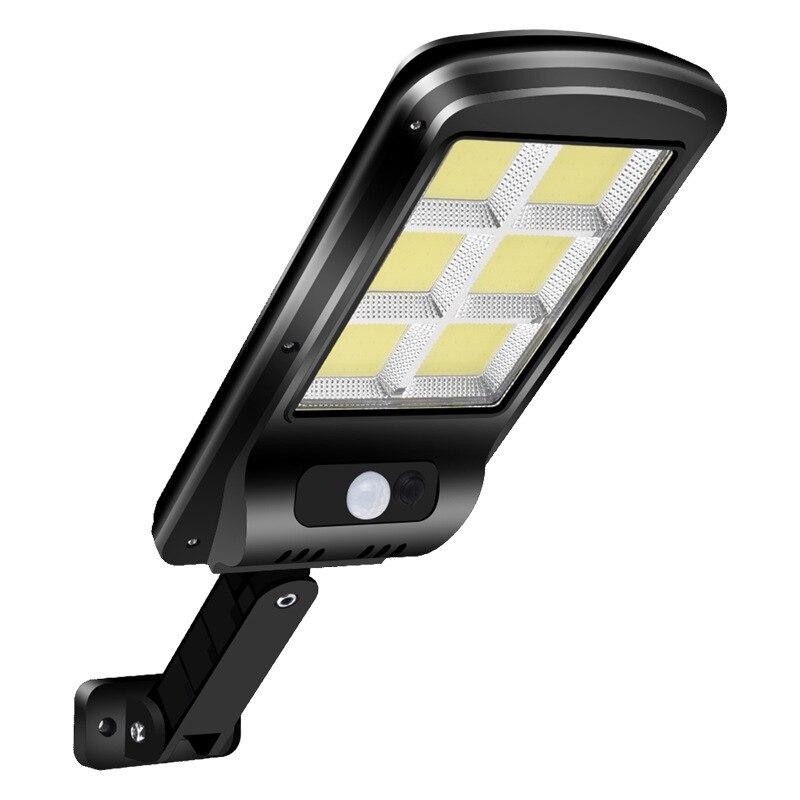 128 COB уличный светильник на солнечной батарее, уличный светильник для безопасности, настенный светильник, водонепроницаемый светильник с па...