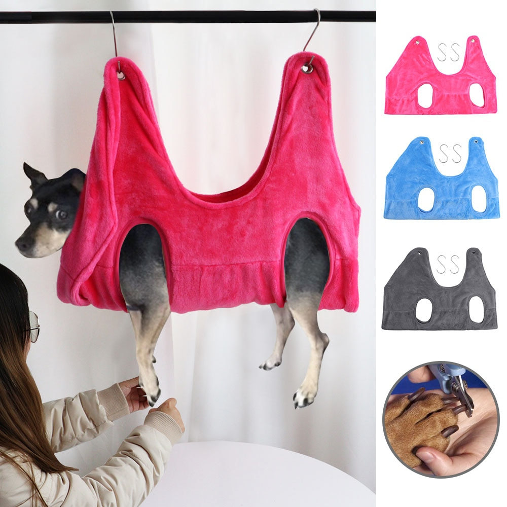 Pet Cat Grooming hammock Helper Cat Grooming Hammocks Restraint Bag for Puppy Dog Nail Clip Trimming Bathing Bag