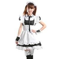 sweet lolita maid costume cosplay performance costume japanese maid dress restaurant uniform female cute sweet mid dress kawaii