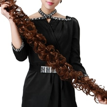Aosiwig Curly Synthetic Hair Chignons Elastic Band Scrunchie Extensions Heat Resistant Hair Bundles Updo Twining wig