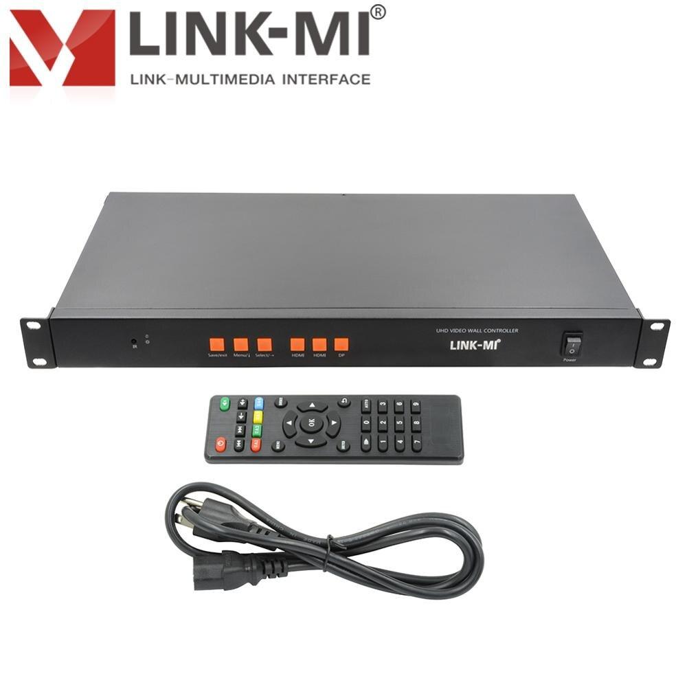 TV12 Ultra HD 3X4 3x3 3x2 4K2K Video Wall Controller 3840x2160 Video Wall Processor Mobile signal HDMI DP Input 12 HDMI Output