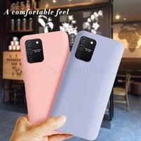 for samsung galaxy s10 lite case silicone case gel rubber full body protection shockproof cover case for galaxy s10lite 6 7