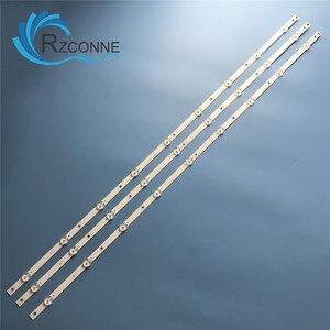 LED Backlight strip 9 lamp For Philips 43'' TV LB43046 V0_02 V0_00 43PFS5803/12 43PFS5823/12 LC430DUY SH A1 TPT430H3