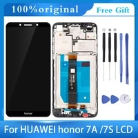5 45for huawei honor 7a lcd display touch screen new digitizer assembly replacement for honor 7a russian version dua l22