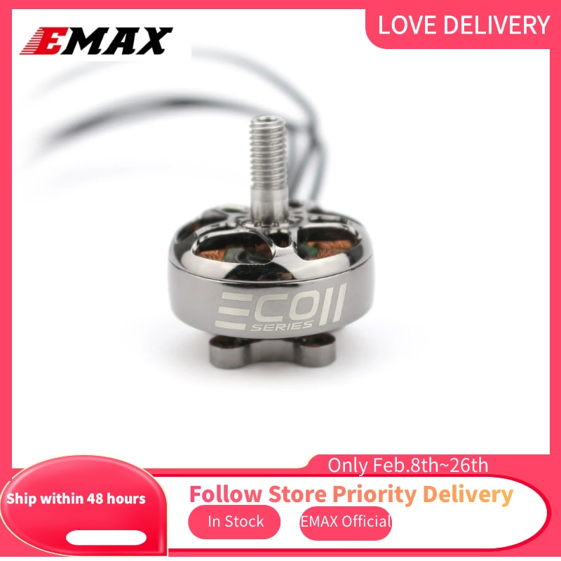 Gift In Stock Newest Emax Official ECO II Series 2306 1700KV 1900KV 2400KV Brushless Motor for RC Dr