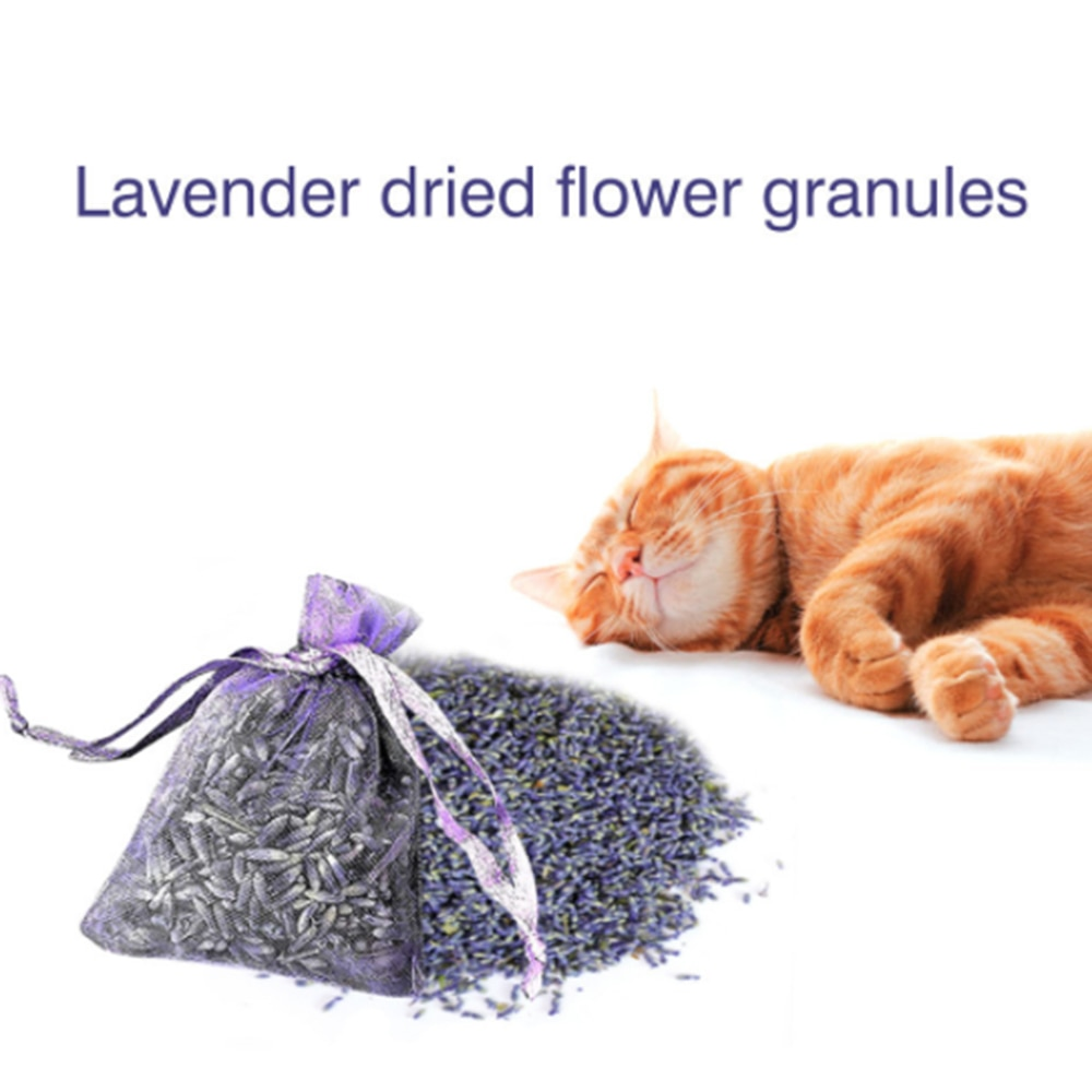 12pcs Lavender Scented Sachets Bag For Closets Drawers Durable Multi-purpose Filled With Naturally Dried Lavender Flower Buds