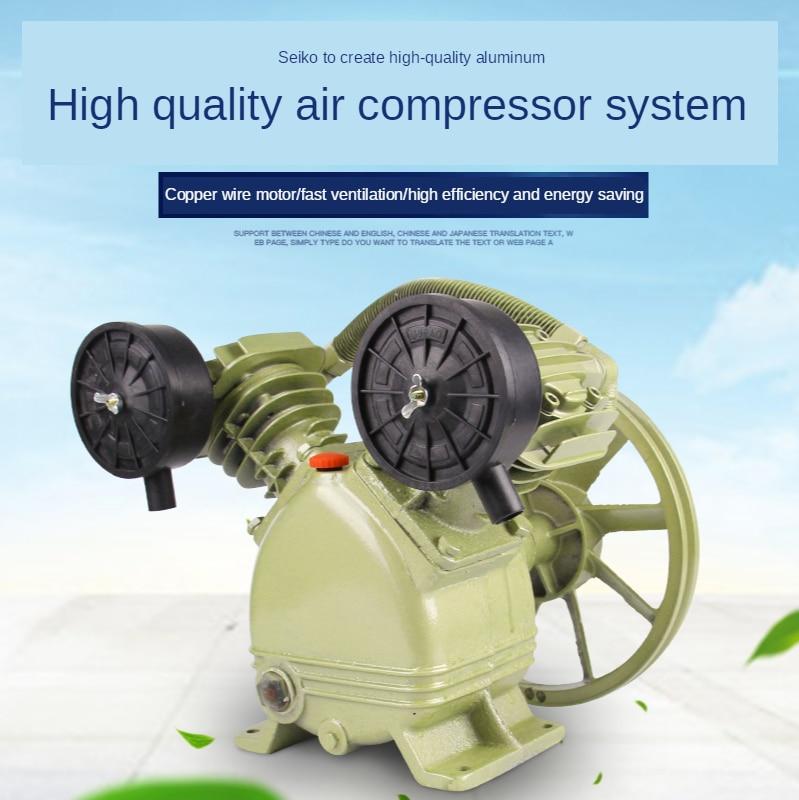 Piston Industrial High Pressure Double Cylinder Three Cylinder Air Compressor Pump Head Air Compressor Head Air Pump Accessories