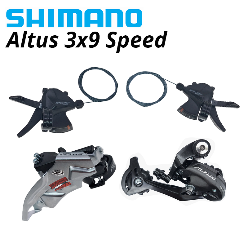SHIMANO-palanca de cambios Altus M370... M2000... M2010 3x9 2x9 grupo de desviador...