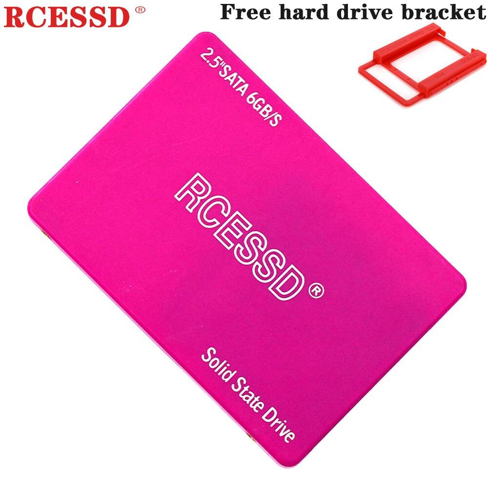 """RCESSD Pink SSD  2.5 """" Internal 120GB 128GB 240GB 256GB 360GB   Internal Solid State Hard Disk Drive HDD  1TB 64GB 480GB 512GB"""