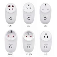 SONOFF S26 WiFi умная вилка EU US UK CN AU автоматический домашний пульт дистанционного управления APP переключатель работает с eWelink Alexa Google Home