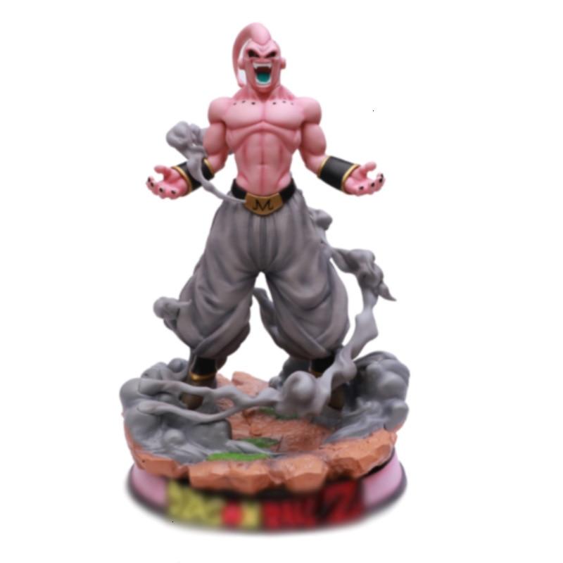 Figura de Dragon Ball Z, Buu GK de Majin, modelo de colección de figuras de acción de PVC, juguetes para regalos, Siza Super grande de 46CM con caja de venta al por menor
