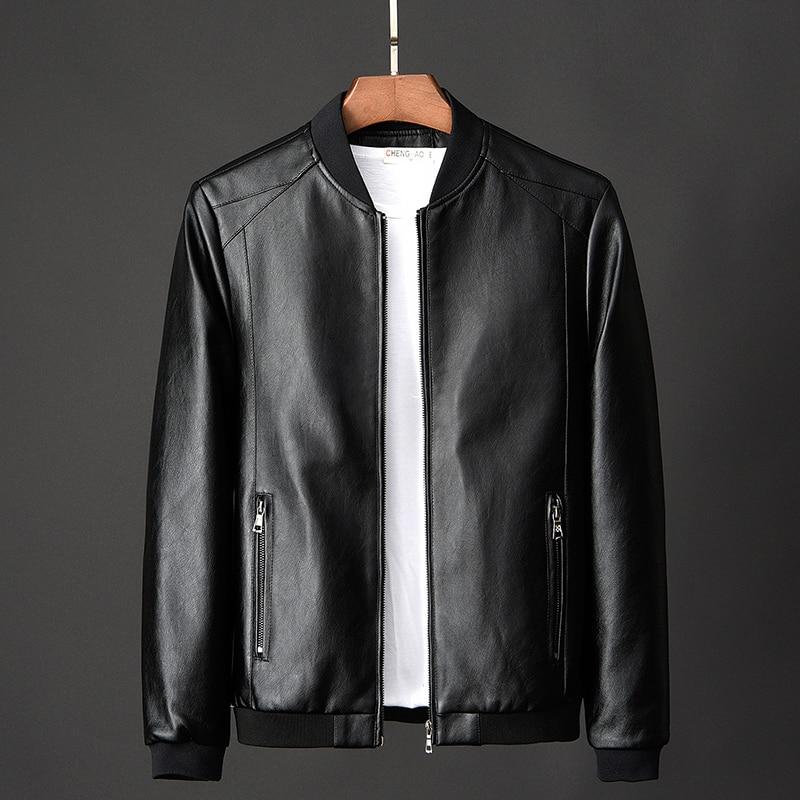 large size 7XL 8XL suede casaco Men's Real Leather Jacket Men Motorcycle winter coat Men Warm Genuine Leather Jackets