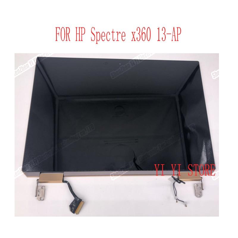 شاشة LCD تعمل باللمس ، 13.3 بوصة ، للكمبيوتر المحمول HP spectrum x360 ، 2 في 1 13-ap