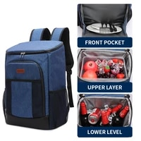 denuoniss jungle camping big cooler bag soft waterproof fresh keeping thermal insulated army bag