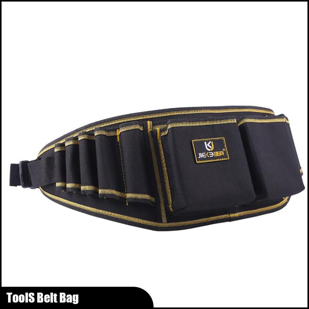 Bolsa de tela Oxford 600D portátil para JK-101, bolsa de cintura, organizador de cinturón, pequeña bolsa de herramientas de trabajo duradera, bolsas de cinturón para herramientas de electricista