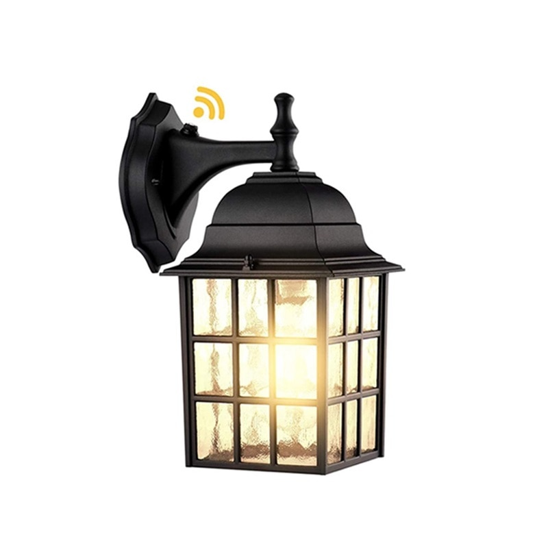 FAIRY Outdoor Wall Sconces Light Classical LED Build-in Sensor Lamp Waterproof IP65 Home Decorative For Porch enlarge