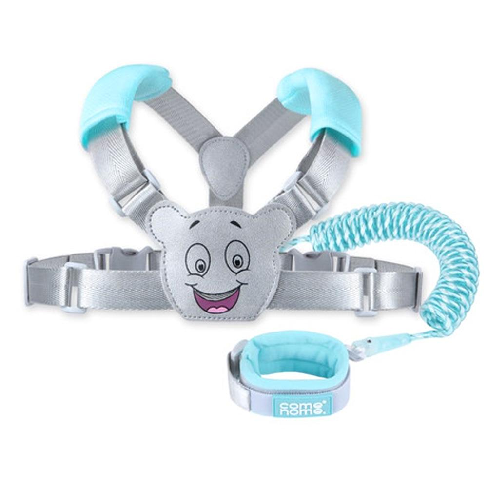 2020 NEW 2.5M Child Safety Harness Leash adjustable Anti Lost Traction Rope Strap Bracelet 2 In 1 Leash Wristband Belt Baby Kids