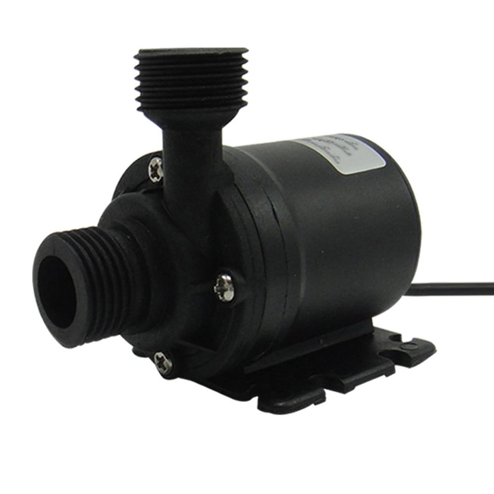 Мини микро Бесщеточный погружной мотор водяной насос Ультра тихий подъем 5 м 800л/ч Погружные Водонепроницаемые водяные насосы
