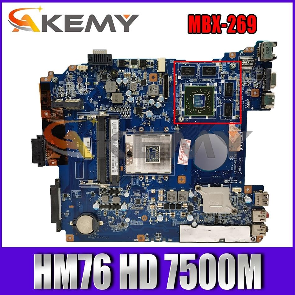 AKEMY MBX-269 DA0HK5MB6F0 A1876100A A1876099A اللوحة الرئيسية لسوني VAIO SVE11 اللوحة الأم للجهاز المحمول HM76 HD 7500 متر DDR3