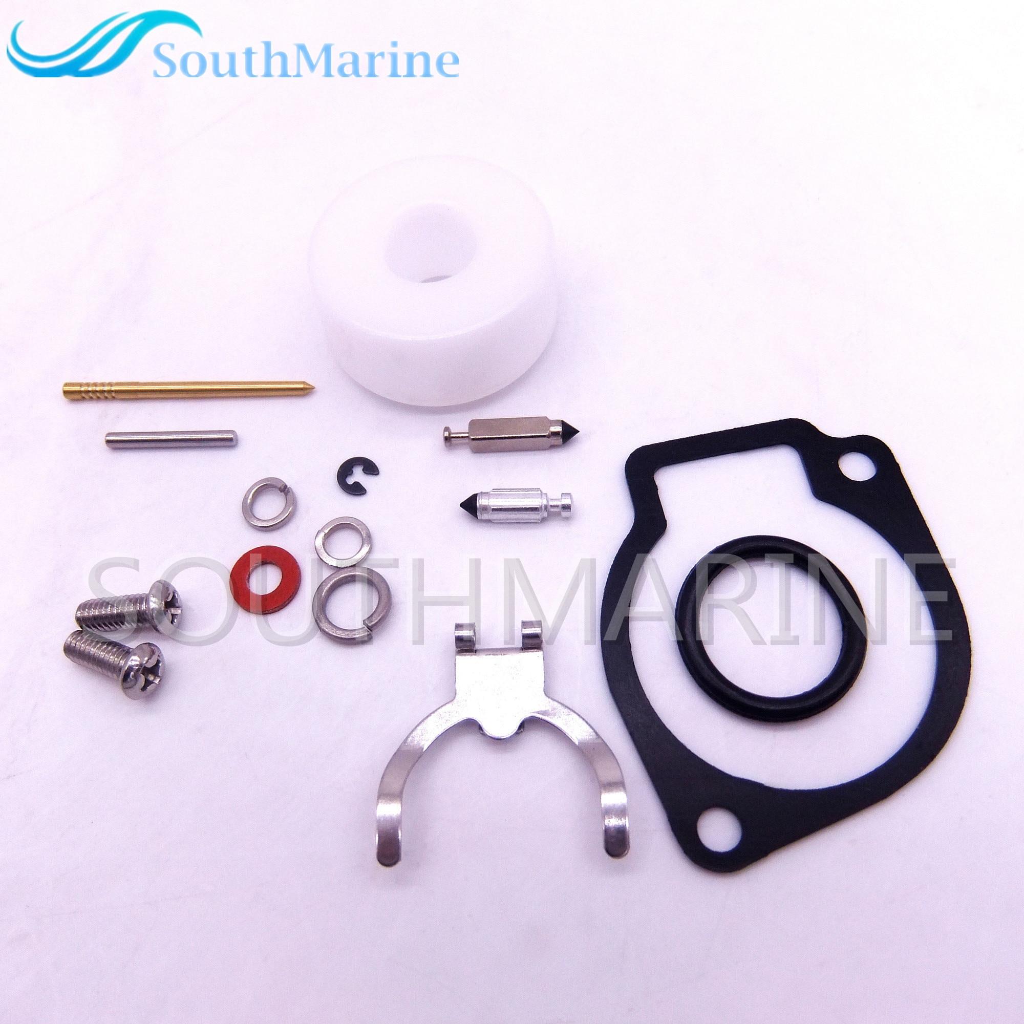 855546A4 Kit de reparación de carburador para Mercury Mercruiser Quicksilver motor 2HP 2.5HP 3.3HP