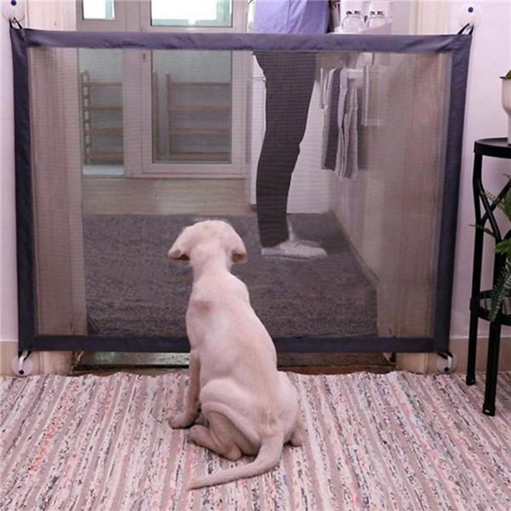 Barreira de segurança do animal de estimação cerca de segurança da porta do gato do cão proteção rede barreira de segurança