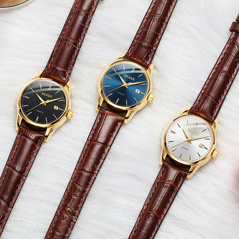 Fashion Simple Ladies Wrist Watches Luminous Women Watches Casual Leather Strap Quartz Watch Clock Montre Femme Relogio Feminino enlarge