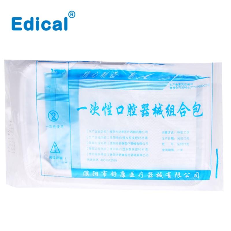 Medical Dental Disposable Dental Instruments Examination Kit Mouth Mirror Tool Tweezers Examination Dental