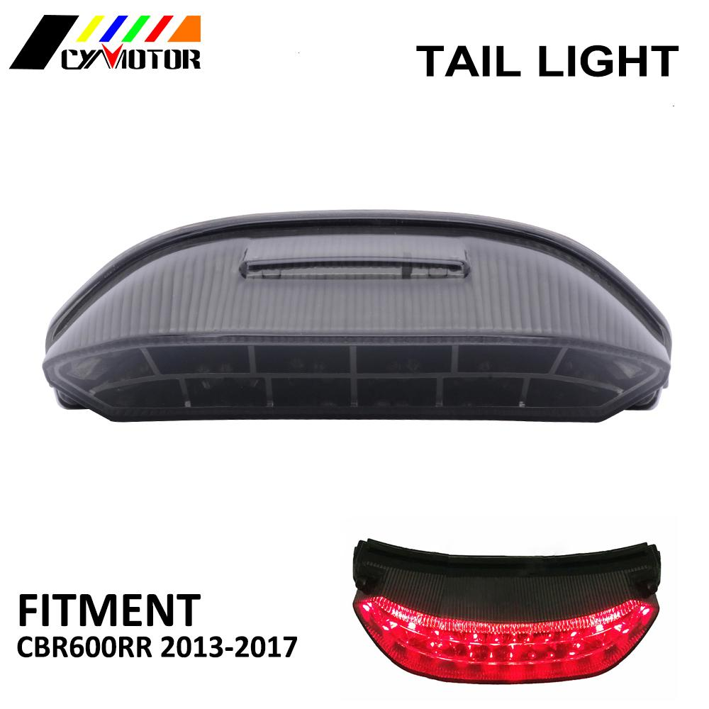 Luces de freno de luz trasera de motocicleta Led integradas para HONDA CBR600RR CBR 600RR 2013 2014 2015 2016 2017