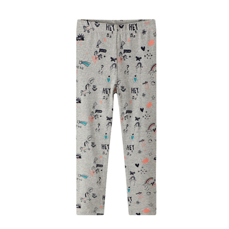 Jumping meters 2-7T Baby Leggings Pants Applique Kids Girls Pencil Pants Autumn Spring Butterflies Girls Trousers Child Clothing