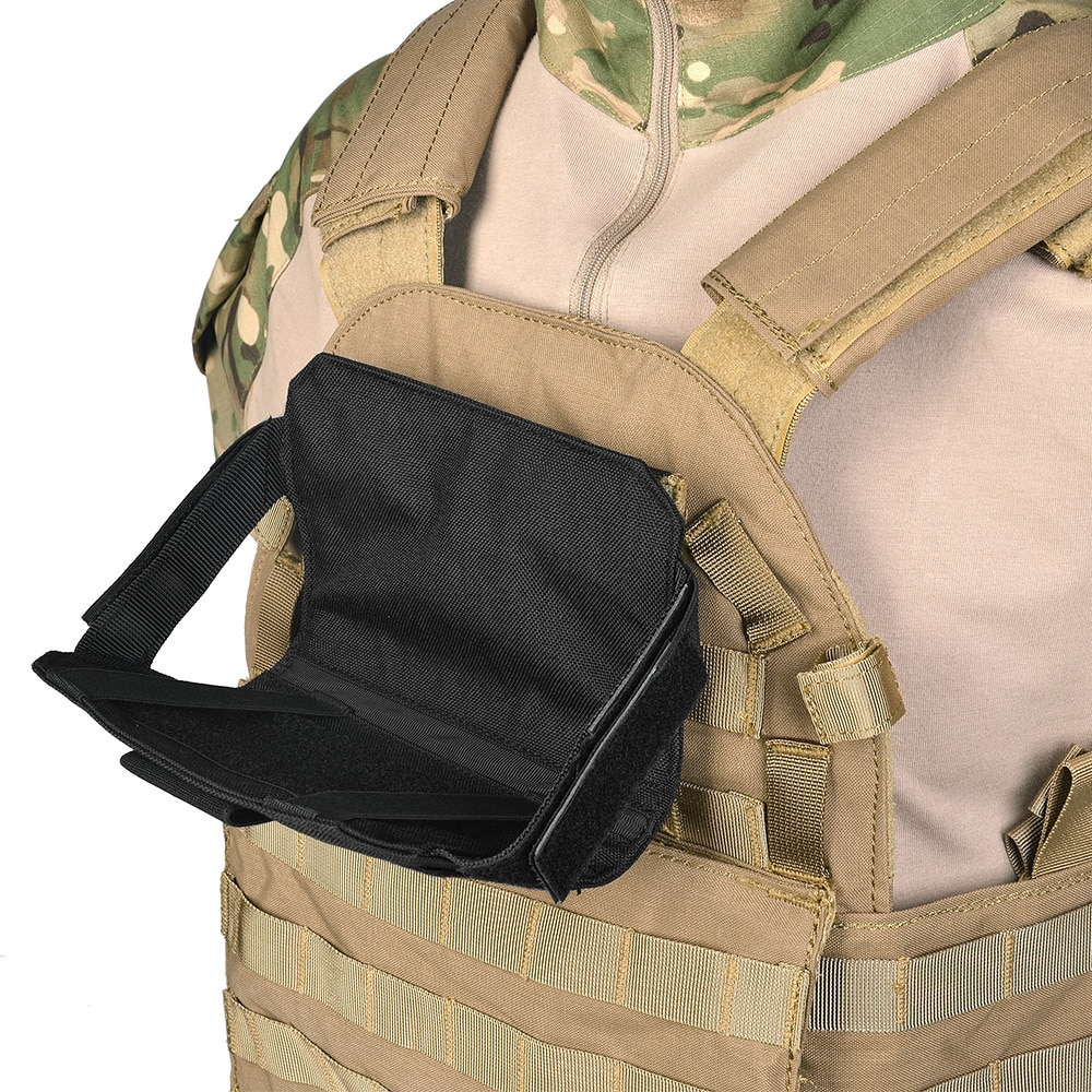 Tactical Admin Phone Pouch Smartphone Case Holder MOLLE Plate Carrier Vest Front Panel Belt Stiky Pack Paintball Accessories admin