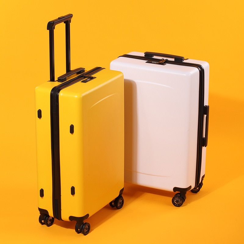 Maleta 20 pulgadas cubierta de carrito mujer ultra ligera estudiante universal rueda cremallera maleta masculina versión coreana