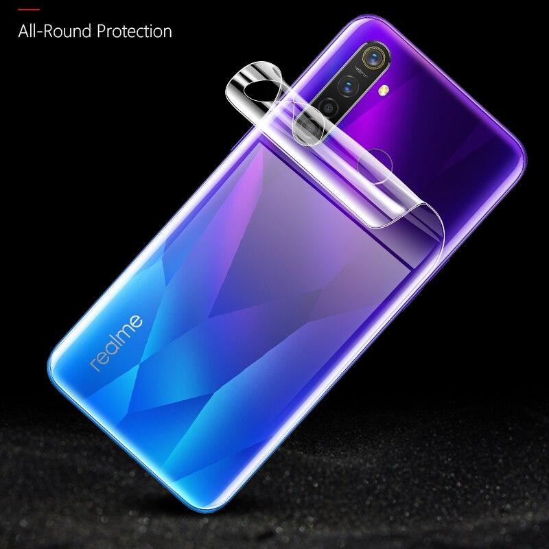 BoeYink 3D película curvada completa para Realme 5 Pro X2 XT Protector de pantalla cubierta completa nano Hydrogel Film para Realme X2 pro C2 3i Q