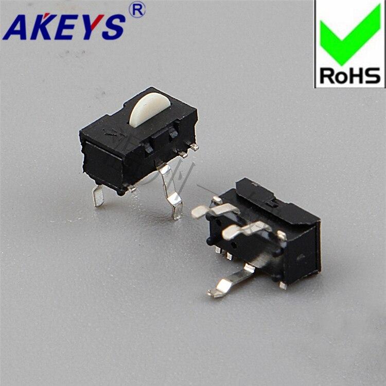 20pcs KFC-V-104 Round Head MS-1106R-3P Detection Travel Detection Bidirectional Limit Detection Fretting Switch