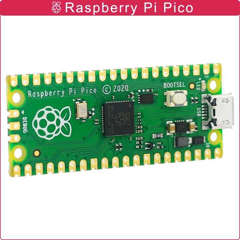 Raspberry Pi Pico-placa oficial RP2040, doble núcleo, 264KB, ARM, microordenadores de baja...