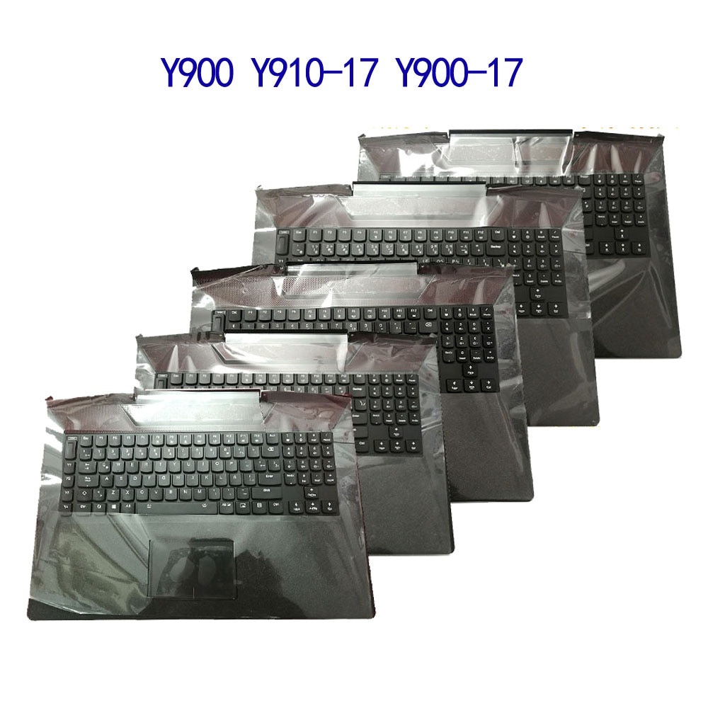 Lt Is SUITABLE For Lenovo Rescuer Y900-17 Y910-17  Y910  Y900 Palm Pad Keyboard Touch Panel Assembly With New Quality
