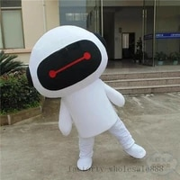 2019 hot advertising promotion robot mascot costume suits dress adult size 1x event unisex cartoon apparel cosplay halloween new