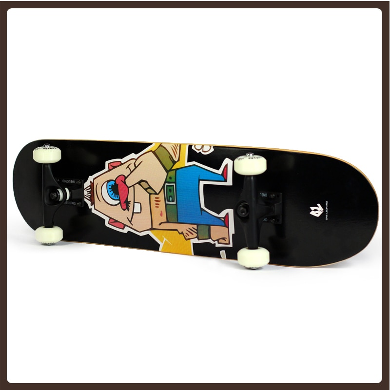4-колесный скейтборд длинная доска для серфинга скейт колеса скейтборда Профессиональный Лонгборд скейтборд начинающих Планш De скейт Спор...