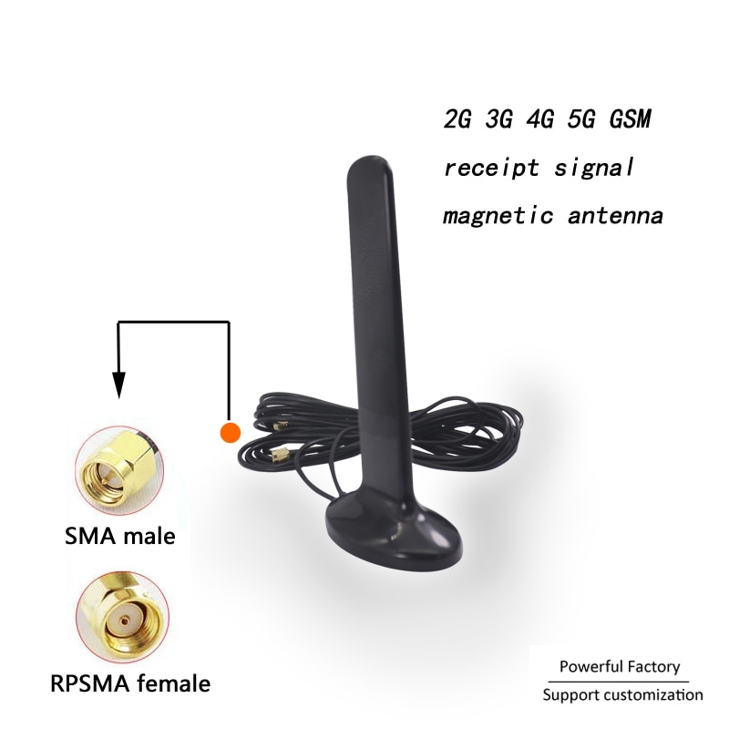 Magnetic mount 2G 3G 4G 5G Router modem Mimo external Panel receipt Signal Antenna 1PCS enlarge