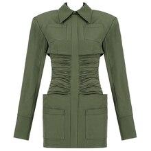 Robe à volants et plis pour femmes   Nouvelle collection, manches longues, plis, style britannique, avec poche, froncée, mini robe de fête