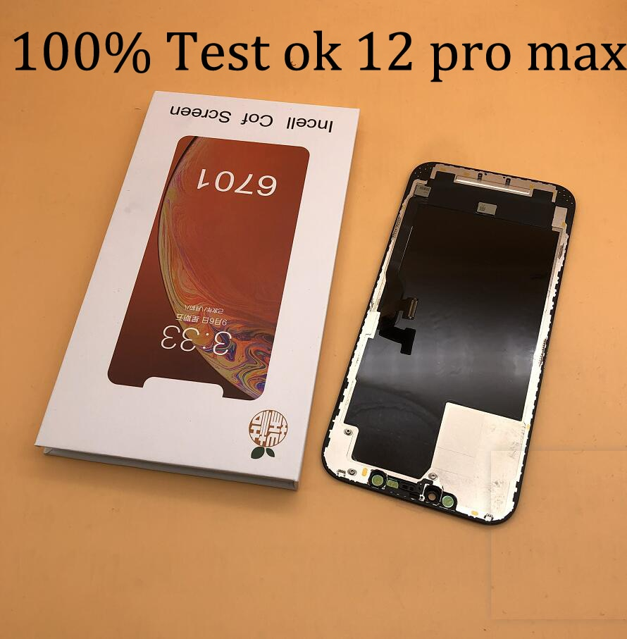 soft OLED Display For iphone 11 pro max x XS MAX xr 12 pro max 12 mini 3D True Tone Touch Digitizer LCD Screen Replacement