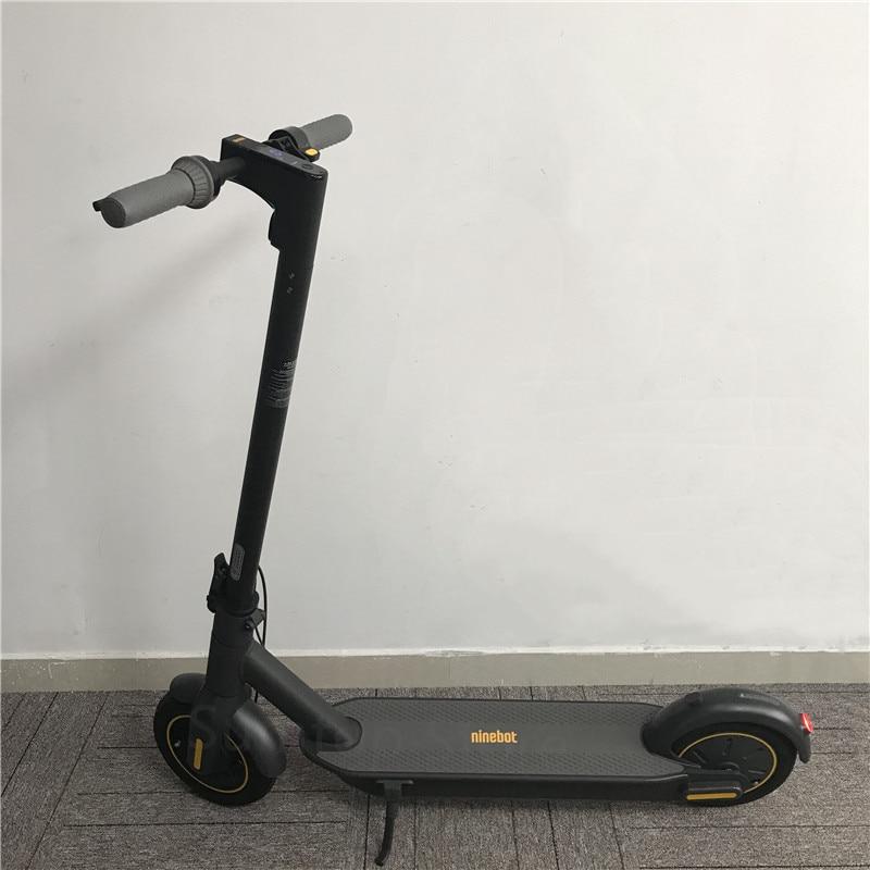 "Original Ninebot MAX G30 Kickscooter 30 km/h 65km kilometraje Scooter eléctrico inteligente 10 ""plegable APP Control Hoverboard skate"