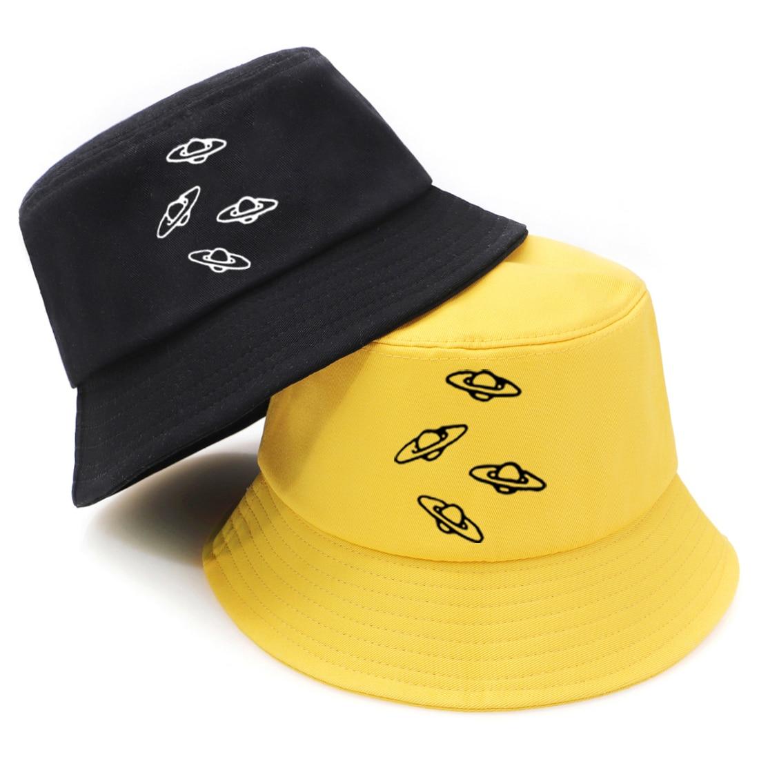Spaceship hop pesca caça chapéus chapéu de balde protetor solar de rua panamá dobrável casual 2020 chapeu pescador