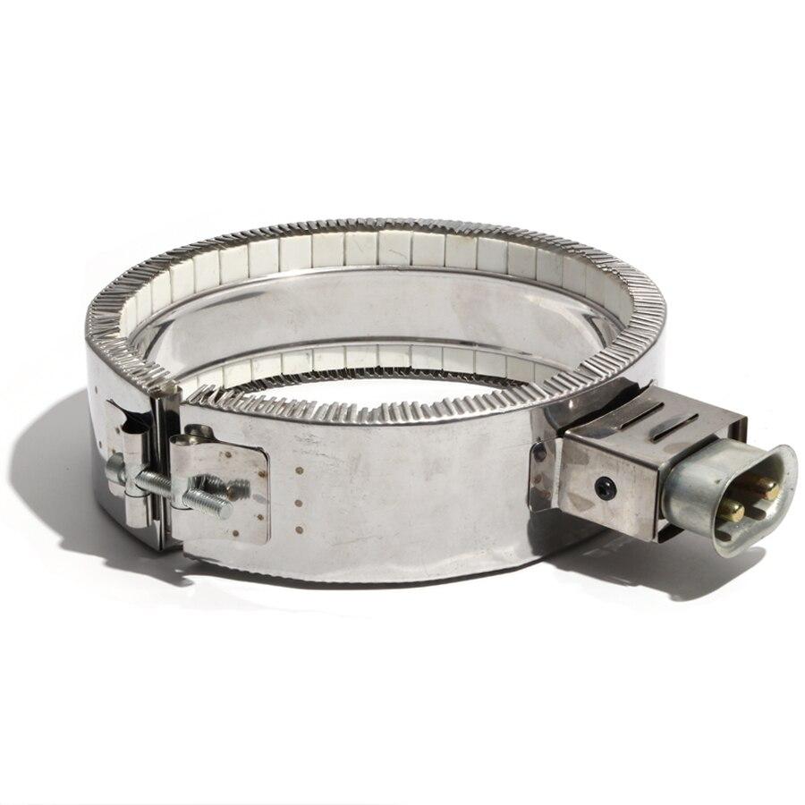 225*60 مللي متر 110 فولت/220 فولت/380 فولت 2100 واط السيراميك التدفئة الكهربائية الفرقة سخان عنصر مخصص رحب