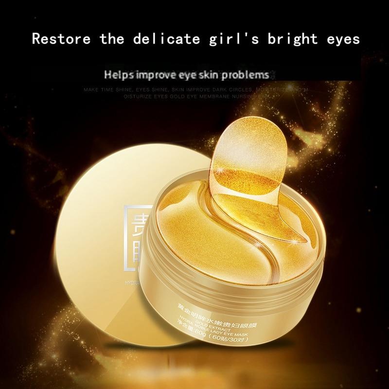 Gold Eye Mask Moisturizing and Moisturizing Eye Mask Gentle and Moisturizing Eye Mask