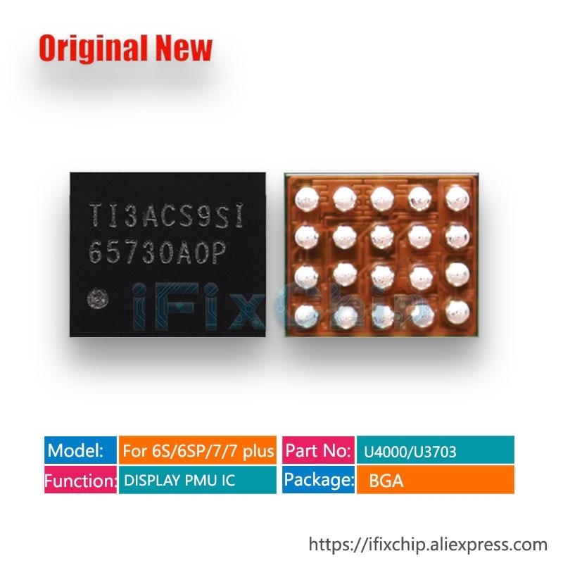 5 uds-100 uds/lote 65730A0P LCD IC para iPhone 5S/5C U3 para iPhone 7/7 Plus/6 S plus/6/6SP U4000 6/6 más U1501 pantalla chip boost
