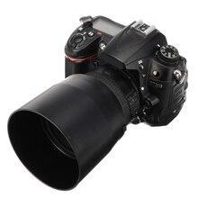 Accesorios de cámara de 67mm, capuchas de lente negras ET-74B, parasol de lente para Canon EF 70-300mm f/4-5,6 IS II, piezas de lente USM