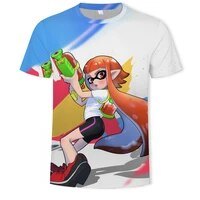 2021 family parent child clothing childrens clothing 3d printing t shirt short sleeve t shirt hip hop boy girl cartoon casual