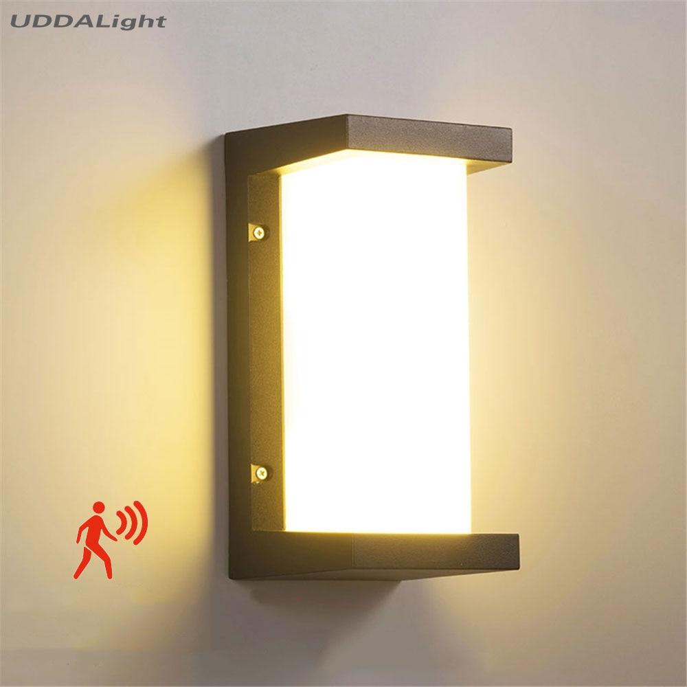 مصباح لجهاز الاستشعار في الهواء الطلق 10 واط في الهواء الطلق الجدار الخفيفة