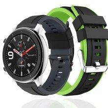 Bracelet Sport pour Huawei montre GT montre dhonneur Active bracelet magique 22mm bracelet silicone pour Xiaomi Huami Amazfit GTR 47mm 47